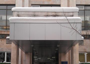 Входная группа для административных зданий