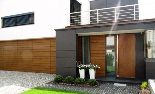 HPL paneli Sika tack panel, Fundermax, HPL панели, навесной фасад вентилируемый фасад