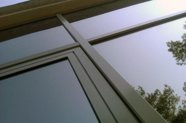 Стеклянный фасад, светопрозрачные конструкции, тонированые стекла