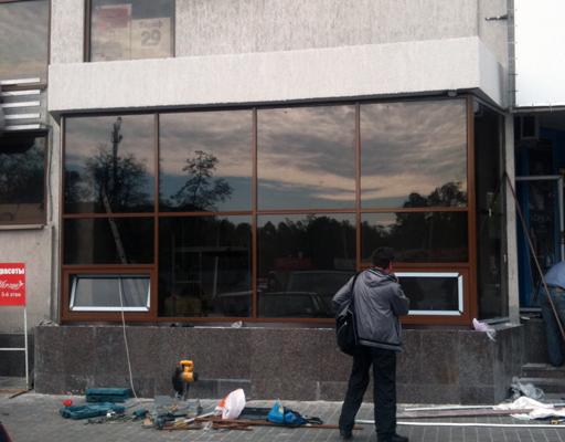 устройство стеклянных ограждающих конструкций
