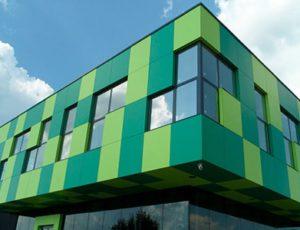 Вентилируемые фасады из HPL пластика
