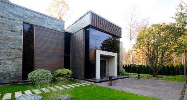 Остекление фасадов, Красивый вход, входная группа, красивые двери