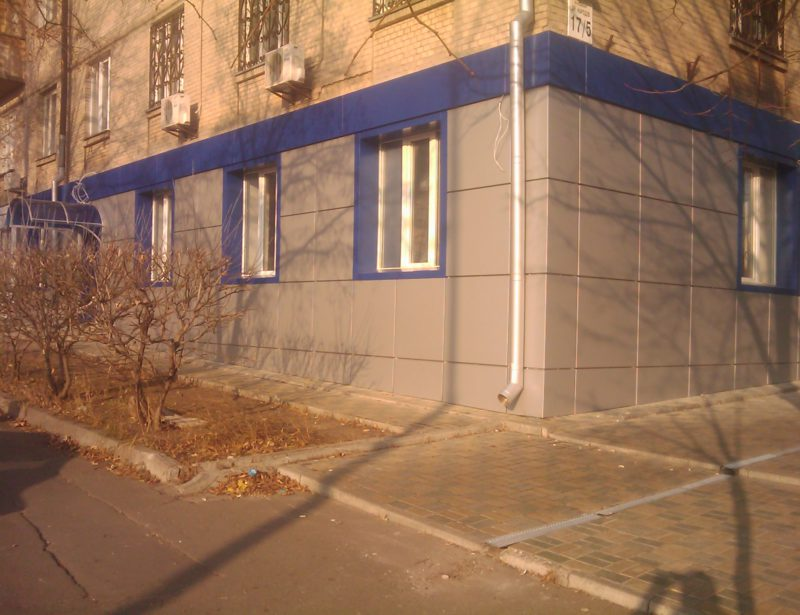 Фасад отделка