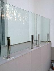 стеклянные ограждения терасс