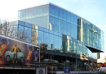 Структурное остекление фасада в Киеве, остекление фасада