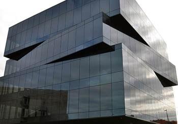 Структурное остекление фасада, структурное остекление