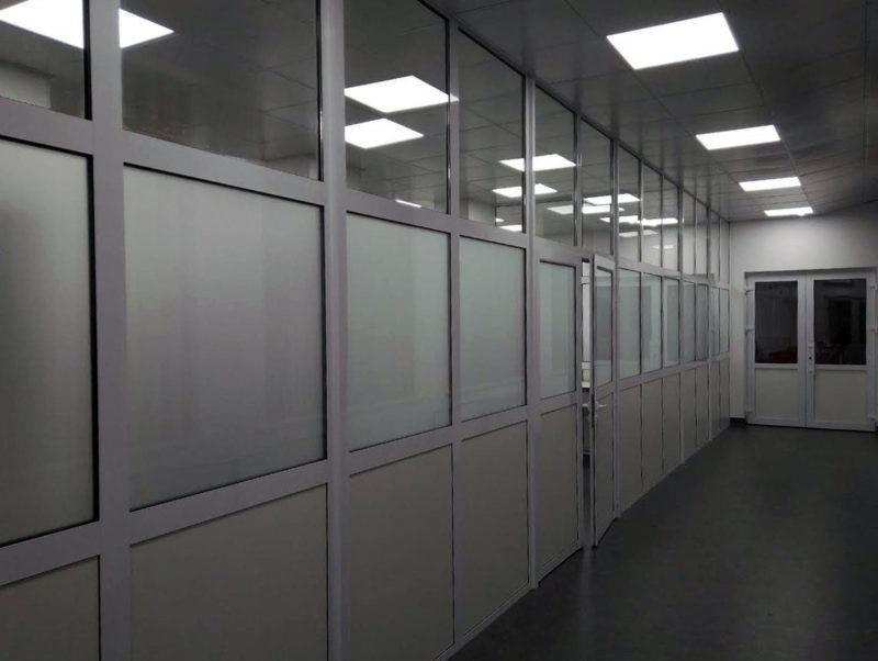 Алюминиевые перегородкиб бюджетные перегородки для офиса