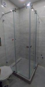 Раздвижные двери в душ