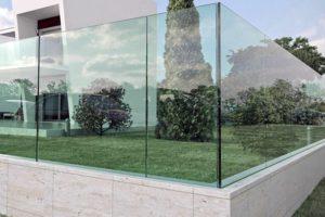 Ограждение стеклянное
