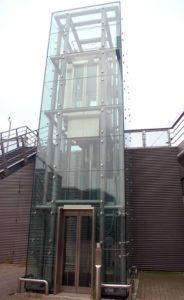 Остекление лифтовых шахт