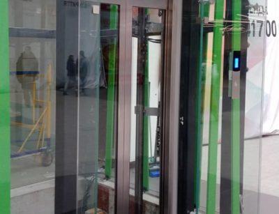 Остекление лифтовой шахты