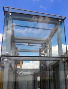 Лфитовая шахта из стекла
