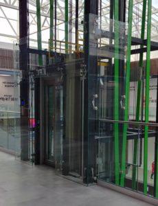 Остекление лифтовой