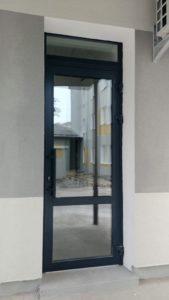 alutech, алюминиевые двери